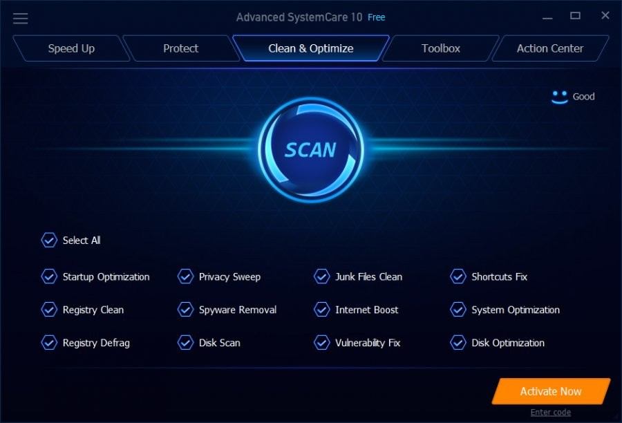 Advanced SystemCare Free - Download for Windows