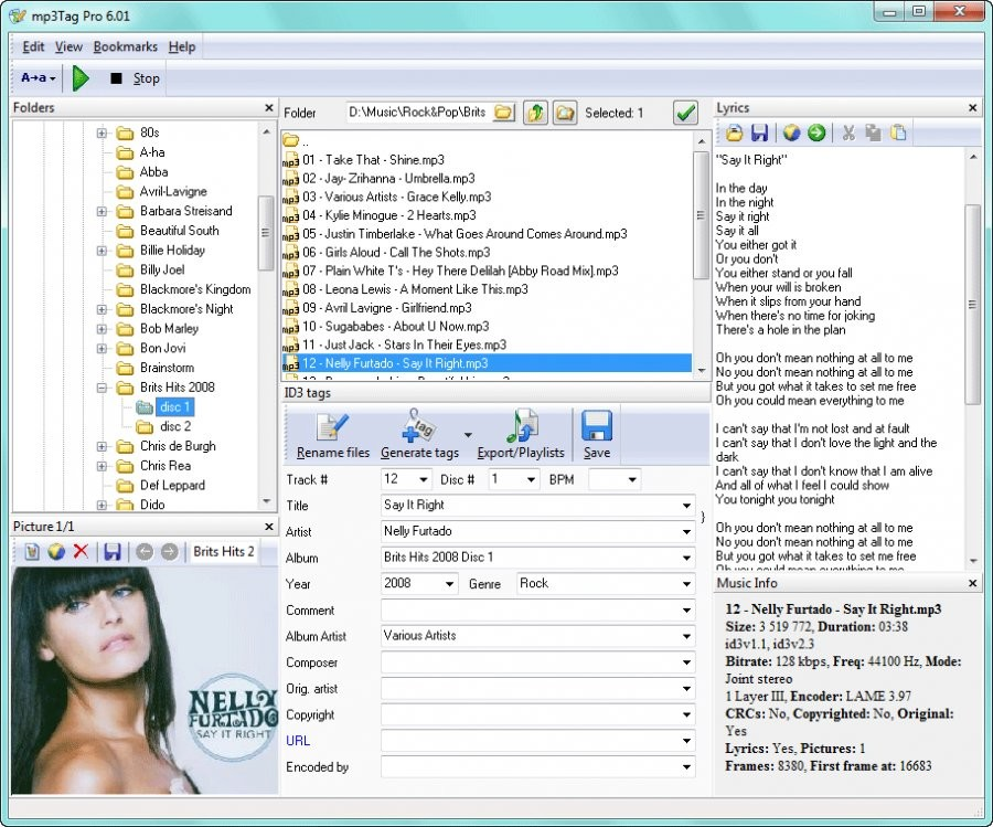 MP3Tag - Download for Windows
