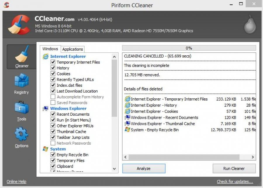 CCleaner - Download for Windows
