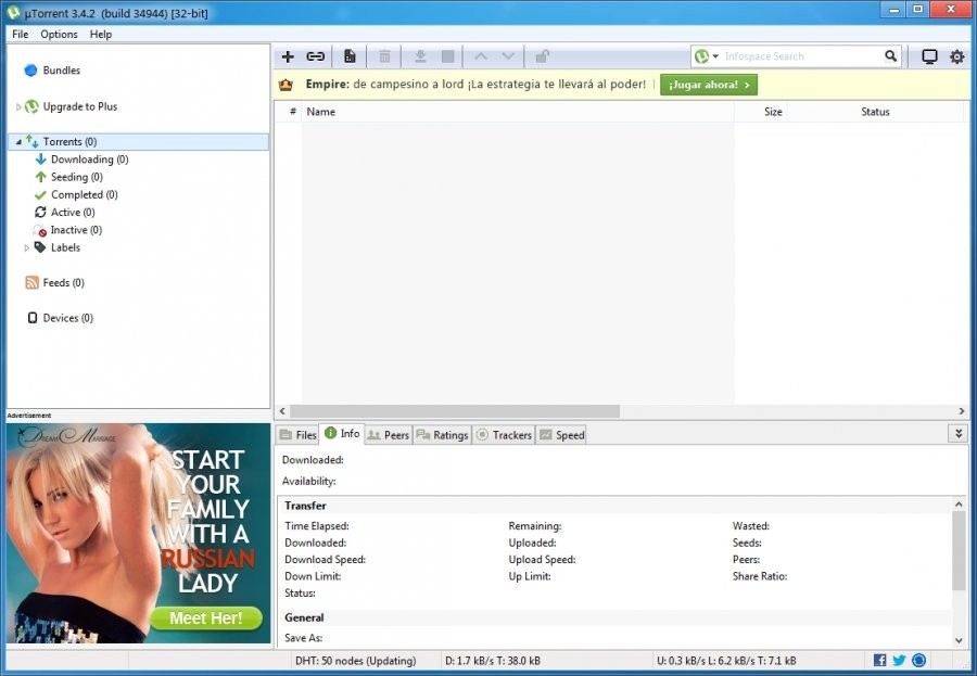 uTorrent - Download for Windows