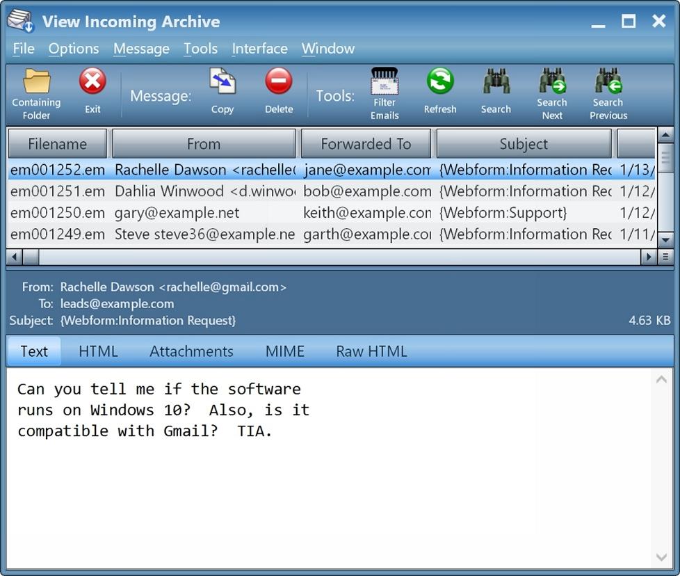 Round-Robin Mailer - Download for Windows