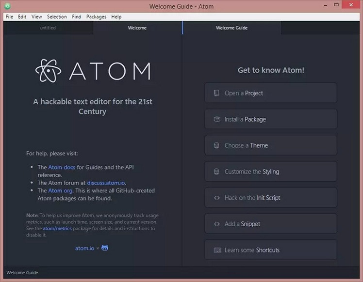 Atom - Download for Windows