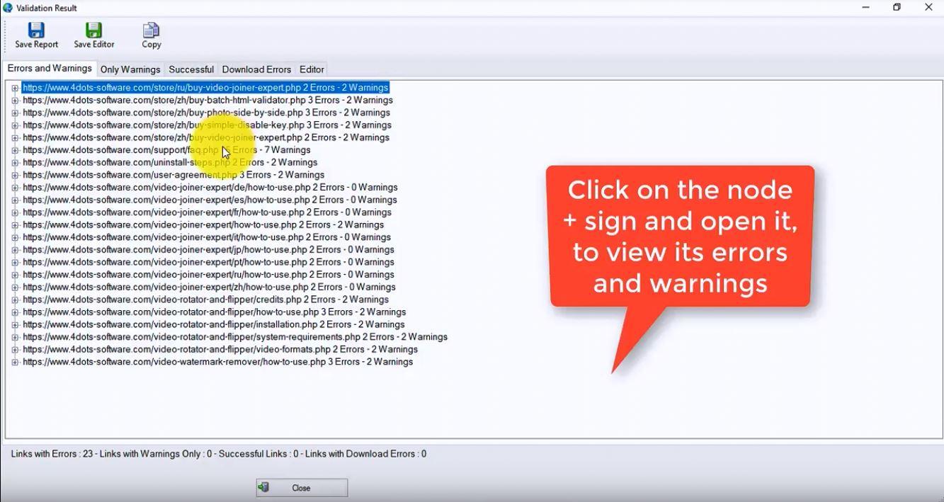 Batch HTML Validator - Download for Windows