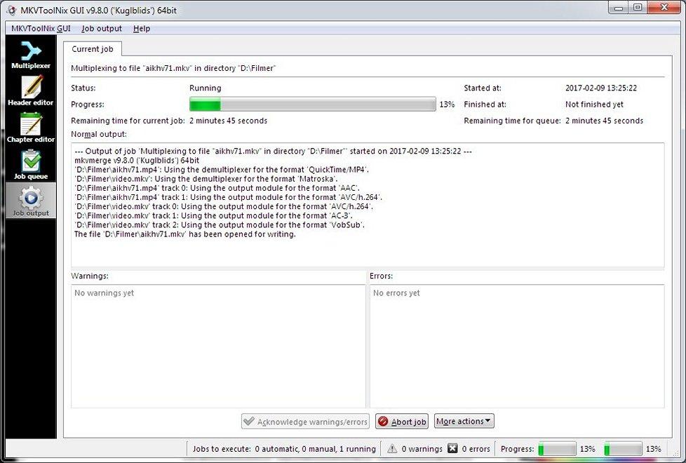 MKVToolnix - Download for Windows