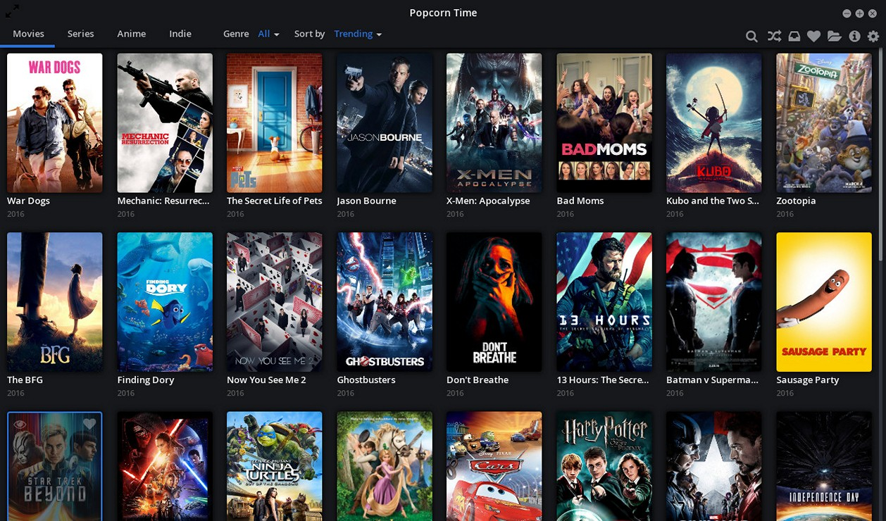 Popcorn Time - Download for Windows