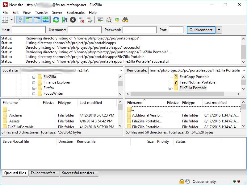 filezilla portable 3 48 0 - download for windows