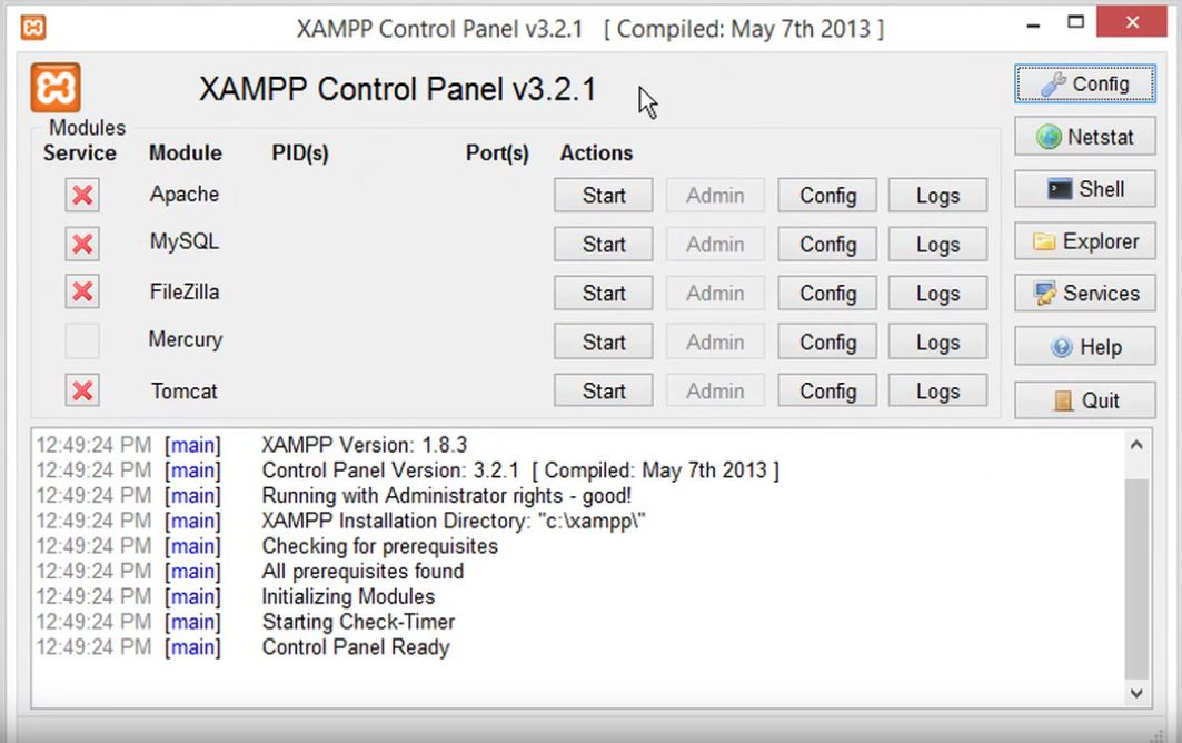 XAMPP - Download for Windows