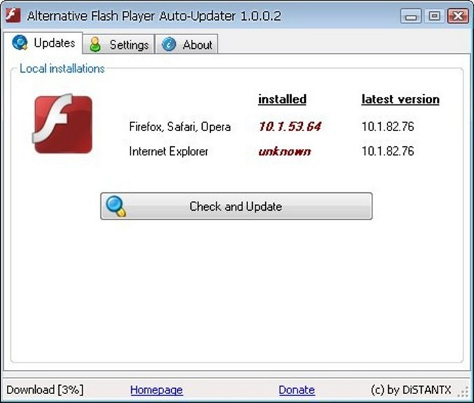Alternative Flash Player - Download for Windows