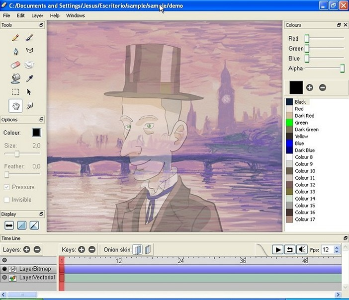 Pencil 2D - Download for Windows