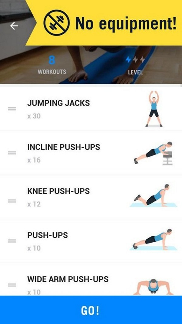 Home Workout - Old version for Android