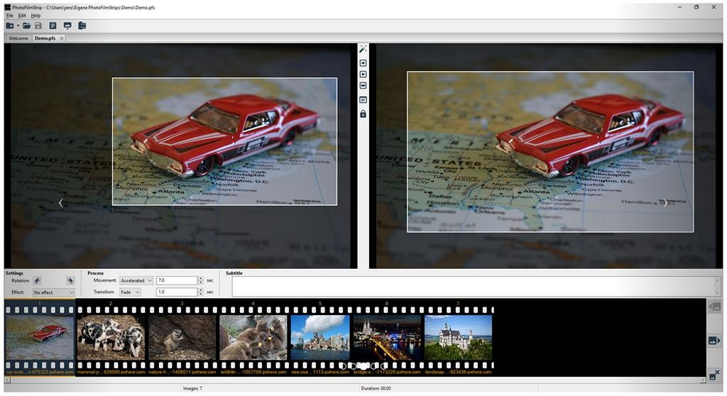 PhotoFilmStrip - Download for Windows