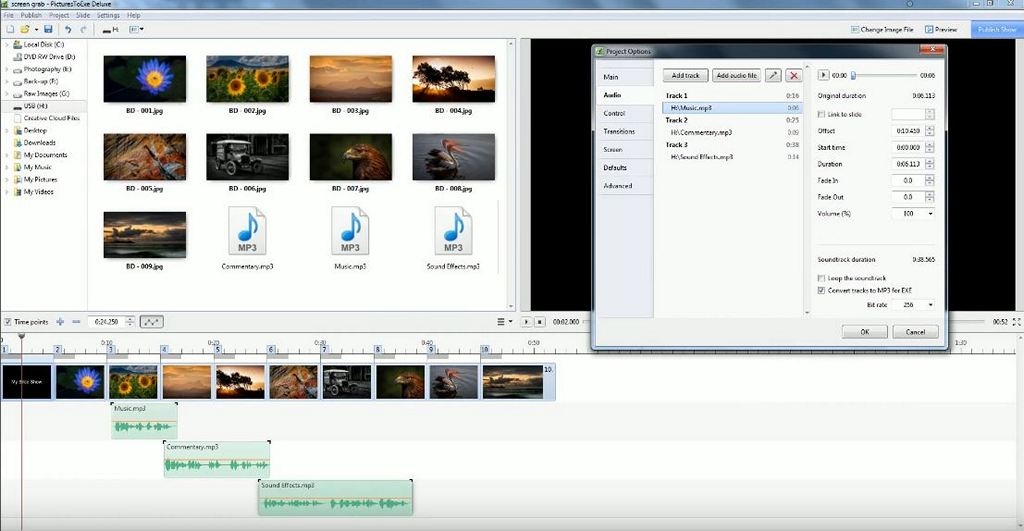 PicturesToExe Deluxe - Download for Windows