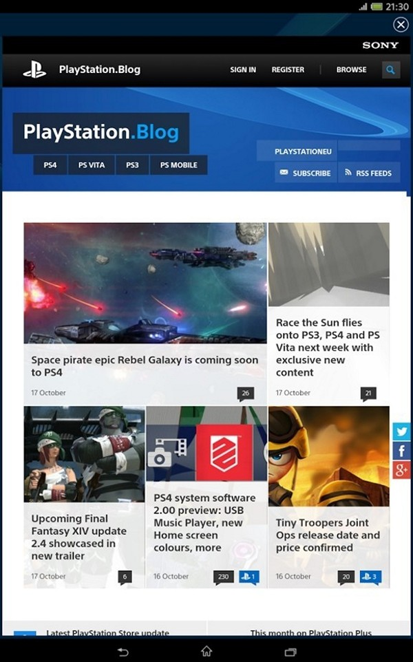PlayStation App - Old version for Android