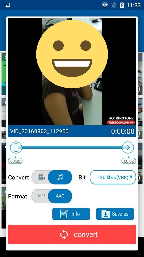 MP3 Video Converter Fundevs - Old version for Android