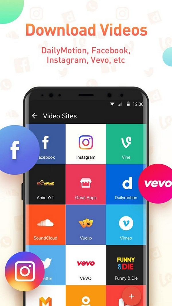Snaptube - Old version for Android - 333download com