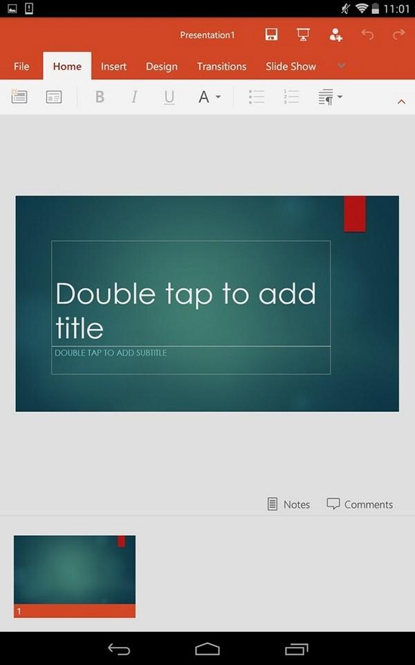 Microsoft PowerPoint - Old version for Android
