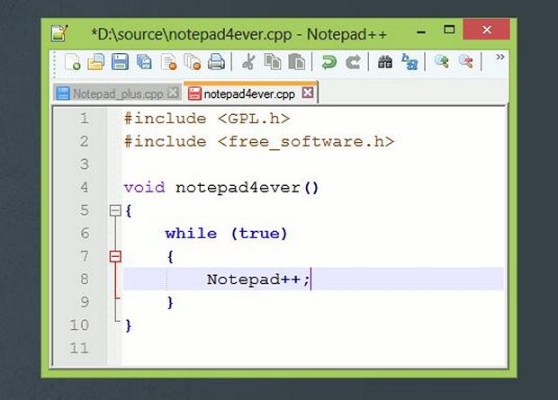 Notepad++ Download for Windows