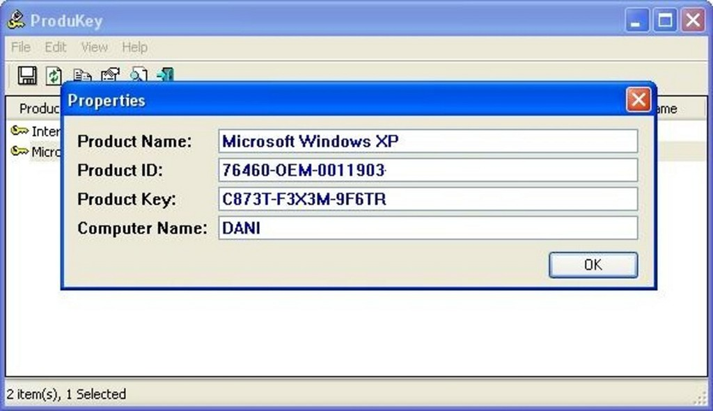ProduKey - Download for Windows