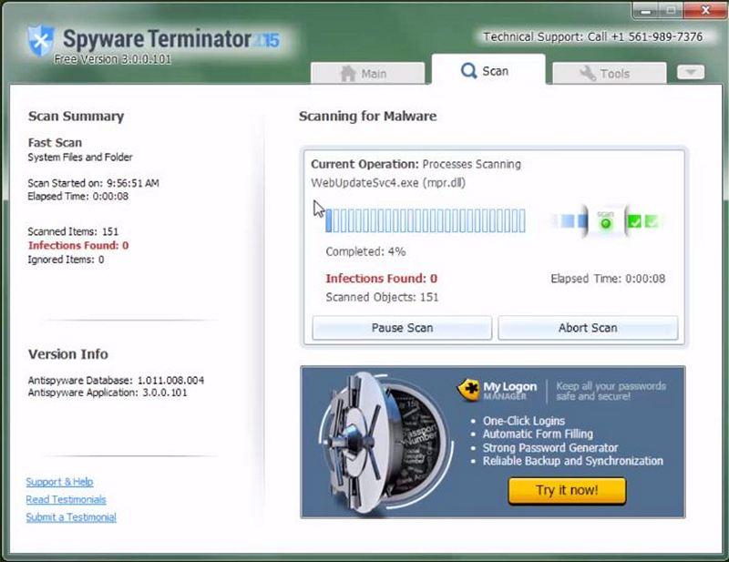 Spyware Terminator - Download for Windows