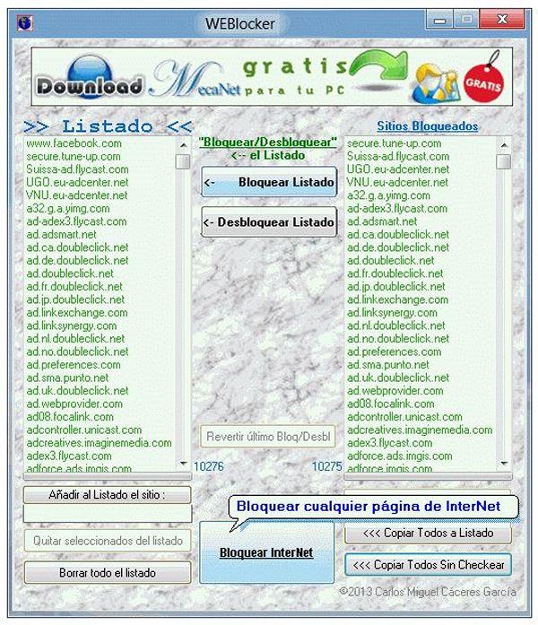 WEBlocker - Download for Windows