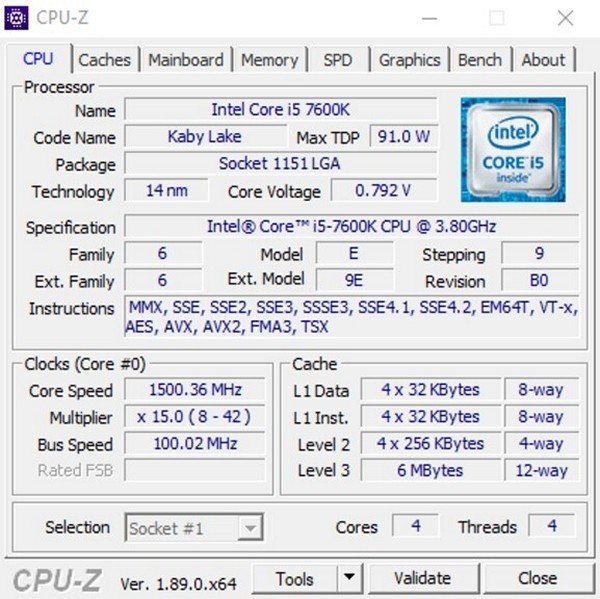 CPU-Z - Download for Windows
