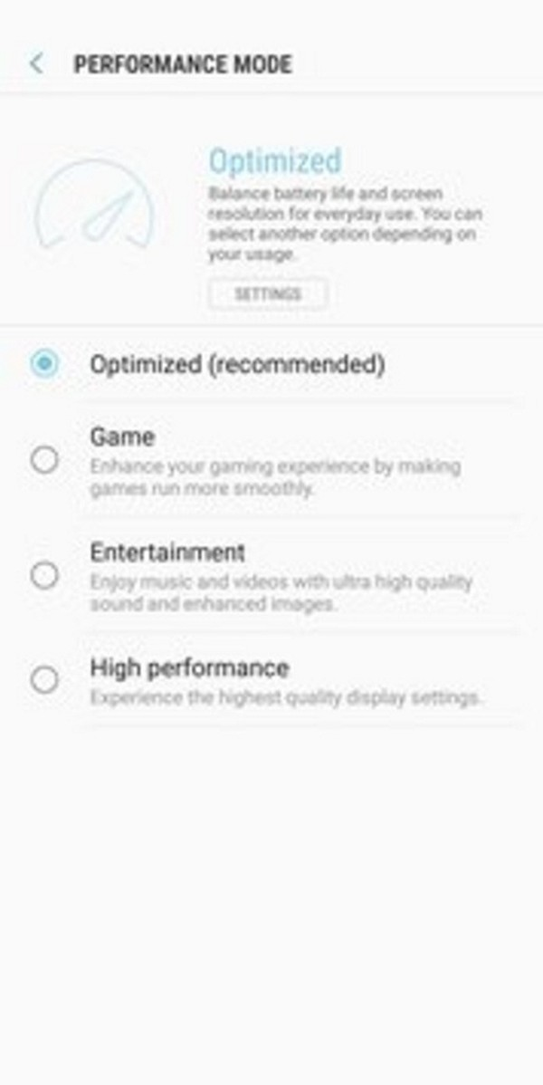 Samsung Device maintenance - Old version for Android