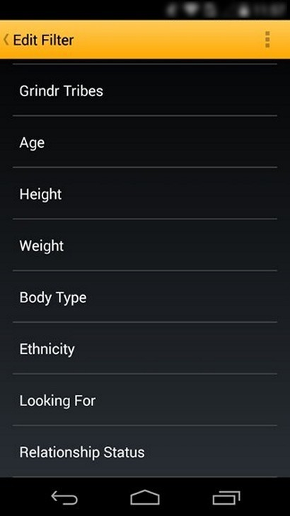 Grindr - Old version for Android