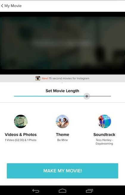 Magisto: Magical Video Editor - Old version for Android