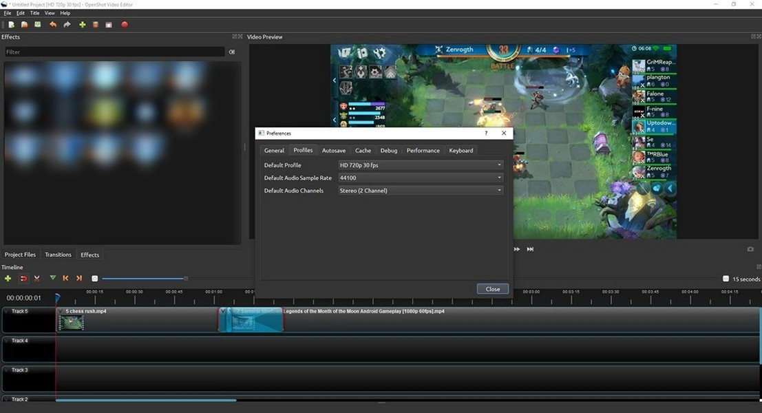 OpenShot Video Editor - Download for Windows