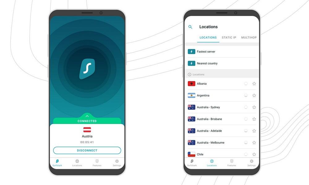 SurfShark VPN - Download for Android