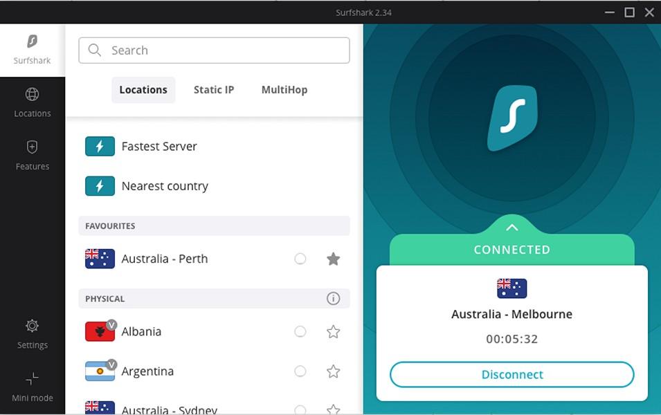 SurfShark - Download for Windows